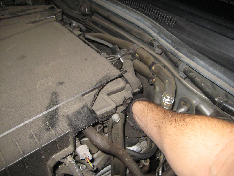 5 4 Triton P0022 as well RepairGuideContent likewise 2005 Ta a Front Suspension Diagram moreover Corolla Oil Filter Change Youtube together with P0401. on tacoma pcv valve location