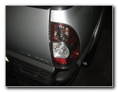 2005-2015 Toyota Tacoma Tail Light Bulbs Replacement Guide