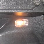 2012-2016 Toyota Yaris Cargo Area Light Bulb Replacement Guide