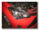2012-2016 Toyota Yaris Headlight Bulbs Replacement Guide