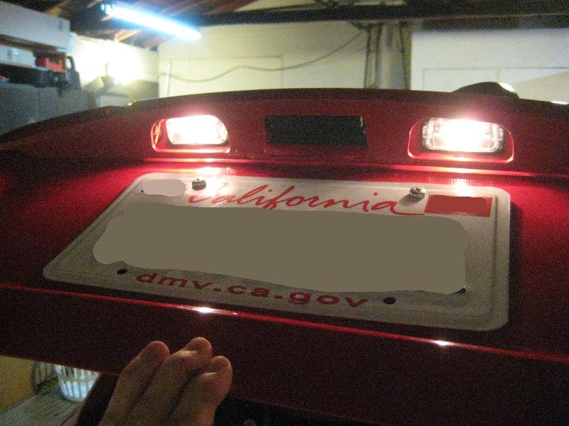 2012 2016 Toyota Yaris License Plate Light Bulbs