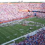 UF Gators VS Troy Trojans Football Game