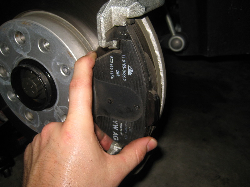 Vw Beetle Front Disc Brake Pads Replacement Guide 025