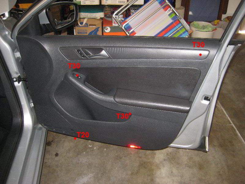 Panel doors jetta door panel removal for Interior door replacement
