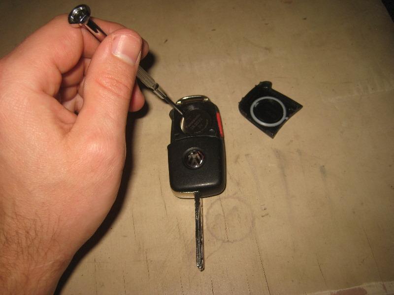 2012 vw passat key fob battery