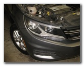 2009-2017 Volkswagen Tiguan Headlight Bulbs Replacement Guide