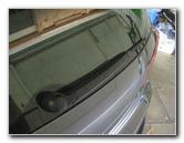 2009-2017 Volkswagen Tiguan Rear Window Wiper Blade Replacement Guide