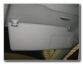 2009-2017 Volkswagen Tiguan Vanity Mirror Light Bulb Replacement Guide