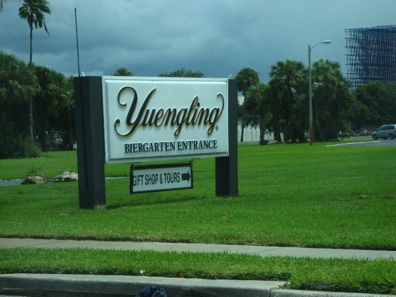 ... from a factory tour of the Yuengling Beer Brewery in Tampa, Florida