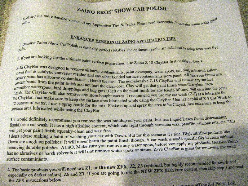 Bros Show Car Polish Review 003