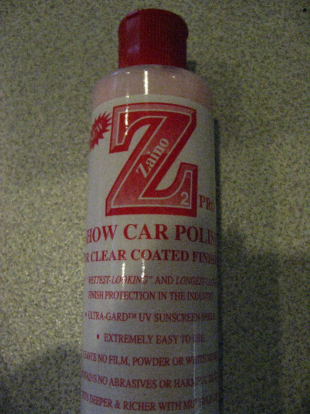 ZainoBrosShowCarPolishReview - Zaino show car polish